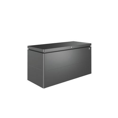 Biohort kussenbox Lounge 160 donkergrijs 70x160cm