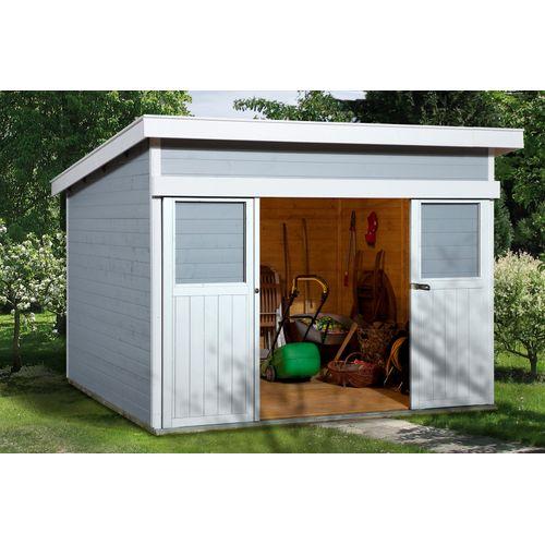 Weka tuinhuis 225 GR1 grijs 209x295cm