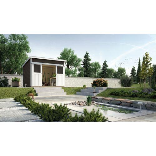 Weka tuinhuis 225 GR1 antraciet 209x295cm