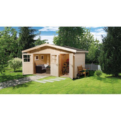 Weka tuinhuis 261 GR1 235x400cm