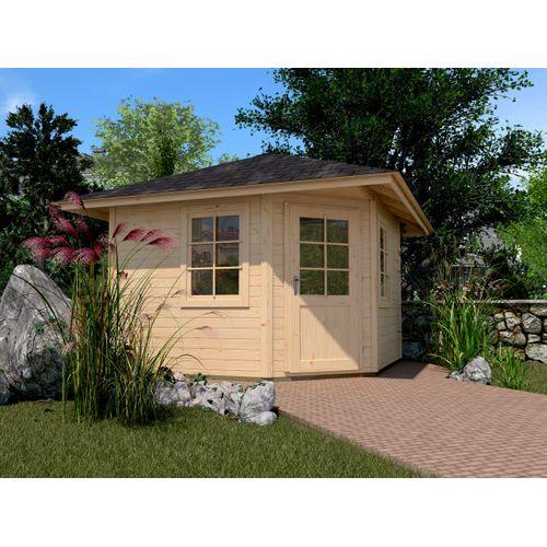 Weka tuinhuis 149 GR2 238x238cm