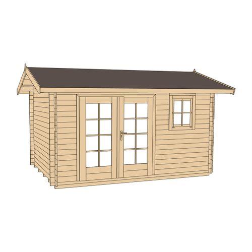 Weka tuinhuis 163 GR1 250x340cm