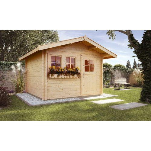 Weka tuinhuis 139 GR2 L6 300x300cm
