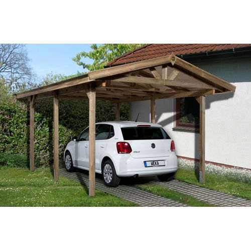 Weka carport 611 288x389cm