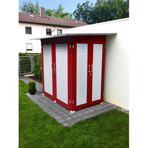 Weka tuinkast Garten Q compact rood