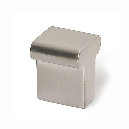 DecoMode knop T metaal nikkel 2st.