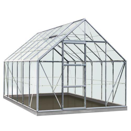 ACD serre Intro Grow Oliver gehard glas aluminium grijs 99 m²
