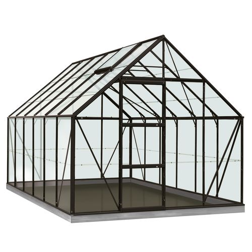 ACD serre Intro Grow Oliver gehard glas aluminium zwart 99 m²