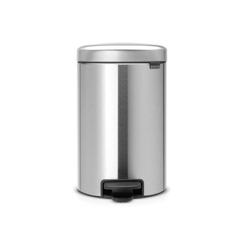 Brabantia pedaalemmer newIcon matt steel 12L