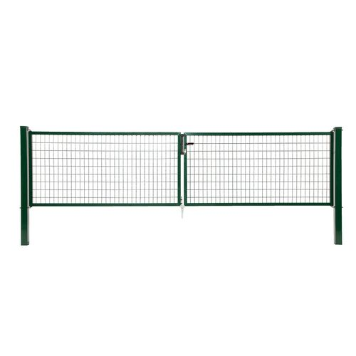 Giardino dubbele poort groen H200 2x150cm