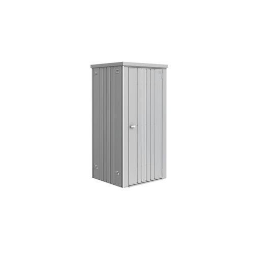 Biohort tuinkast 90 zilver metallic 93x83x1825cm