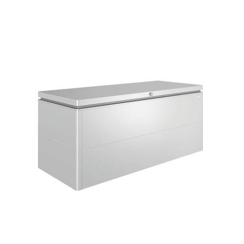 Biohort kussenbox Lounge 200 zilver 84x200cm