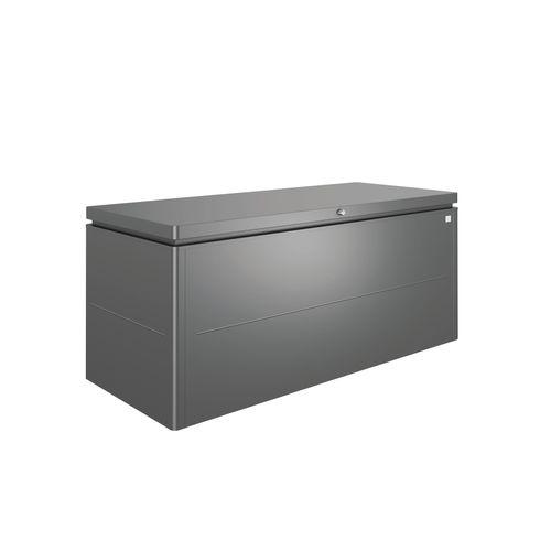 Biohort kussenbox Lounge 200 donkergrijs 84x200cm