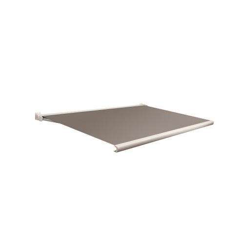 Domasol zonnescherm elektrisch Factor 20 C lichtbruin350x250cm