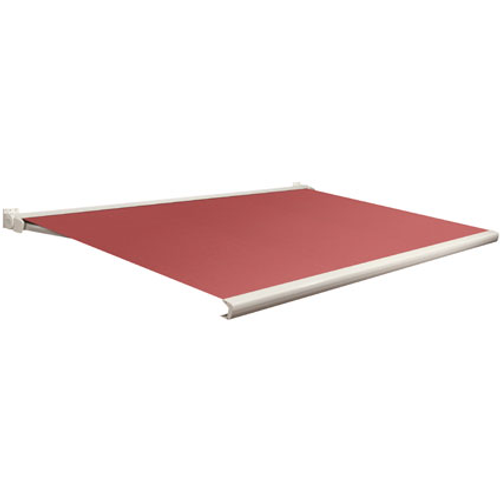 Domasol zonnescherm elektrisch Factor 20 C rood 450x300cm