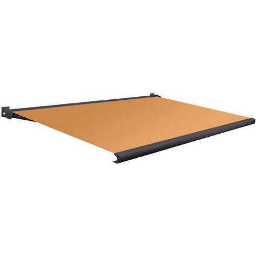 Domasol zonnescherm elektrisch Factor 20 A oranje 550x250cm