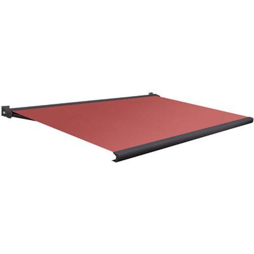 Domasol zonnescherm elektrisch Factor 20 A rood 350x300cm