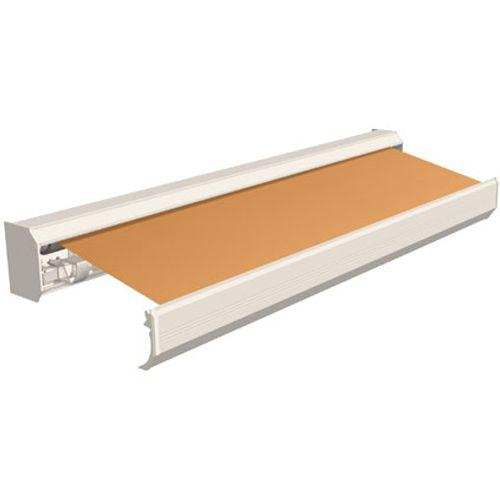 Domasol zonnescherm elektrisch Factor 30 A oranje 600x300cm