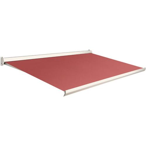 Domasol zonnescherm manueel Factor 10 C rood 350x250cm