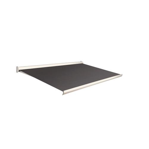 Domasol zonnescherm manueel Factor 10 C zwart 350x250cm
