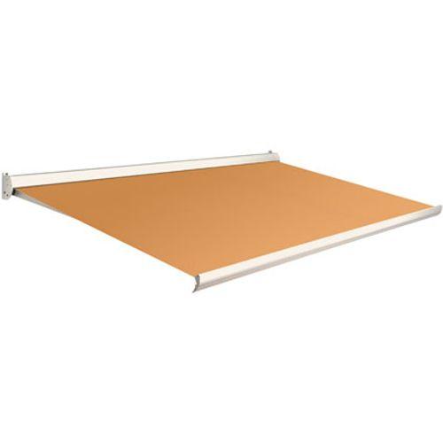 Domasol zonnescherm manueel Factor 10 C oranje 550x250cm