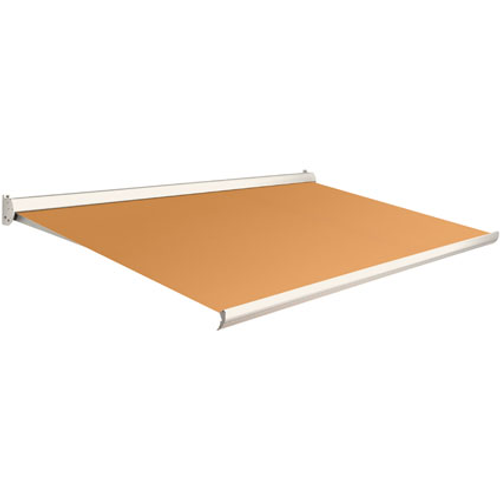 Domasol zonnescherm manueel Factor 10 C oranje 350x300cm