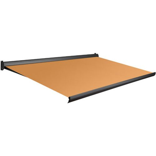 Domasol zonnescherm manueel Factor 10 A oranje 550x250cm