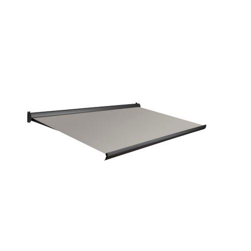 Domasol zonnescherm manueel Factor 10 A grijs 400x300cm