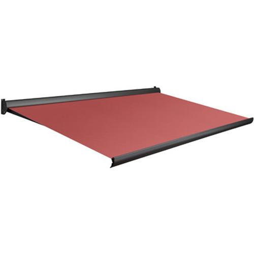 Domasol zonnescherm manueel Factor 10 A rood 450x300cm