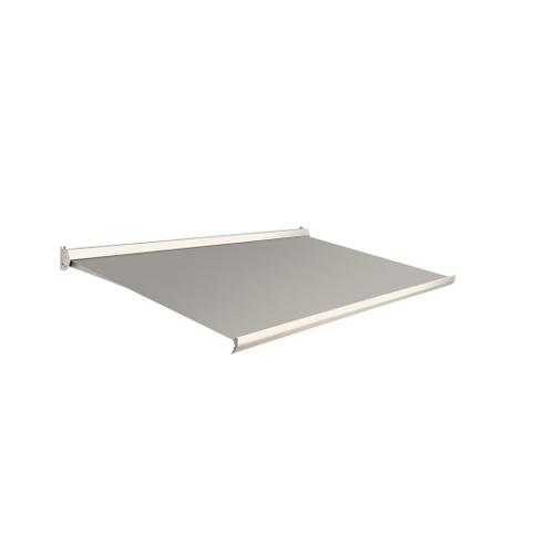 Domasol zonnescherm elektrisch Factor 10 C grijs 400x250cm