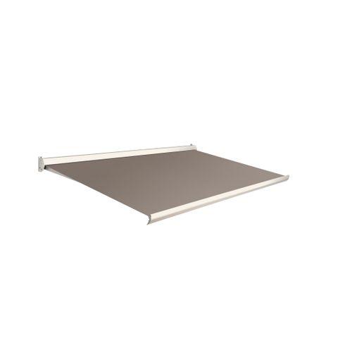 Domasol zonnescherm elektrisch Factor 10 C lichtbruin450x250cm