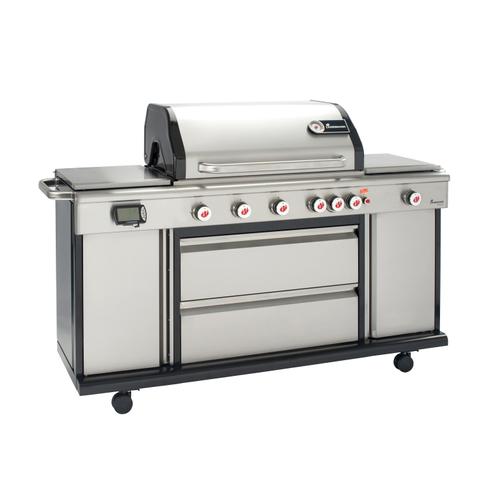 Landmann gasbarbecue Triton PTS6.1 263kW zilver