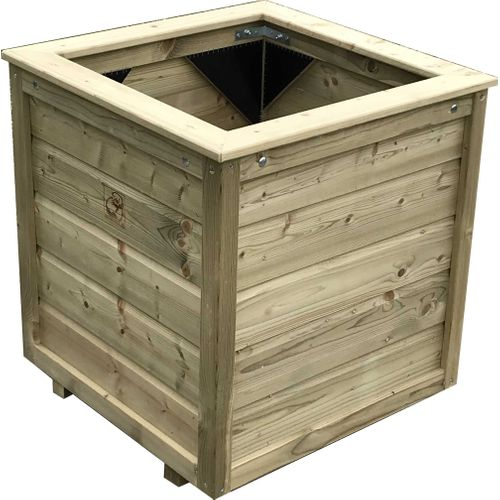 Lutrabox plantenbak 100x100x65cm