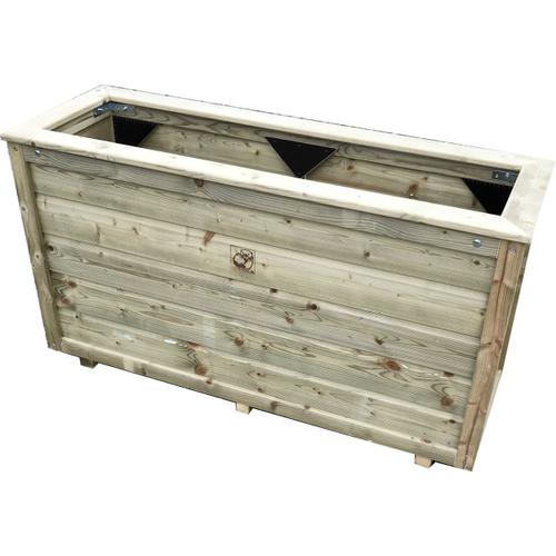 Lutrabox plantenbak 100x40x55cm