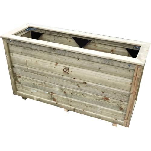 Lutrabox plantenbak 120x40x60cm