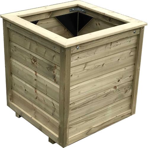 Lutrabox plantenbak 80x80x65cm