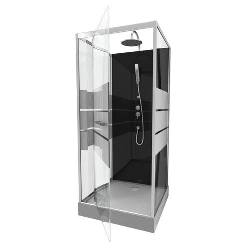 Aurlane douchecabine Study 90x90x219 230cm chroom