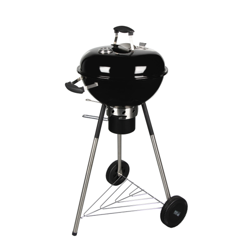 Central Park houtskoolbarbecue Tulsa Ø445cm zwart