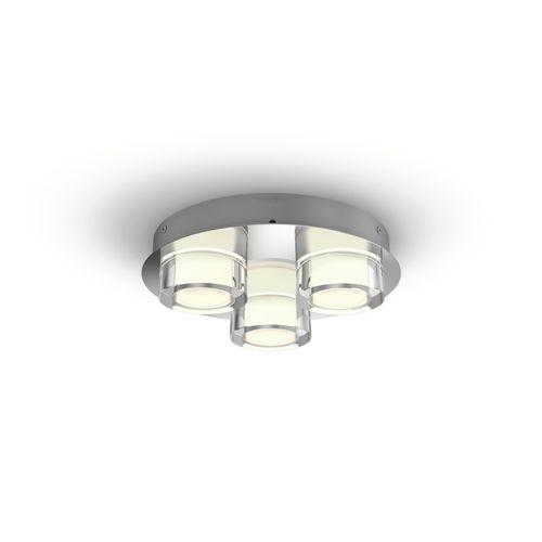 Philips plafondlamp LED Resort metaal 3x4.5W